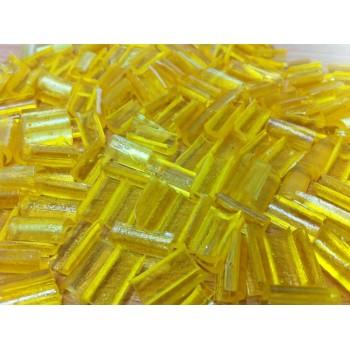 Keratinové nehtíky BLOND - 25 kusů