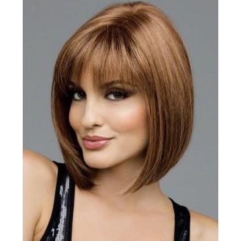 Clip in OFINA  REMY lidské vlasy - SVĚTLE HNĚDÁ