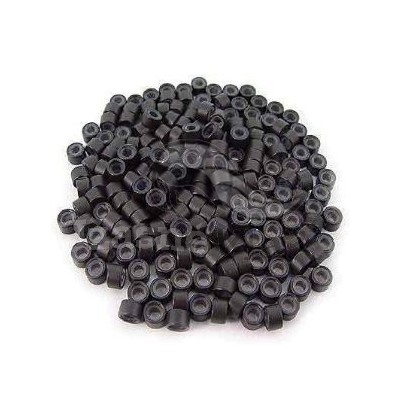 Náhradní micro ringy (kroužky) 50ks - černé