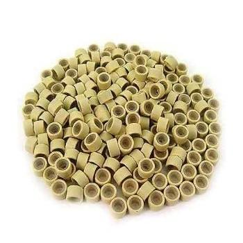 Náhradní micro ringy (kroužky) 50ks - světlé