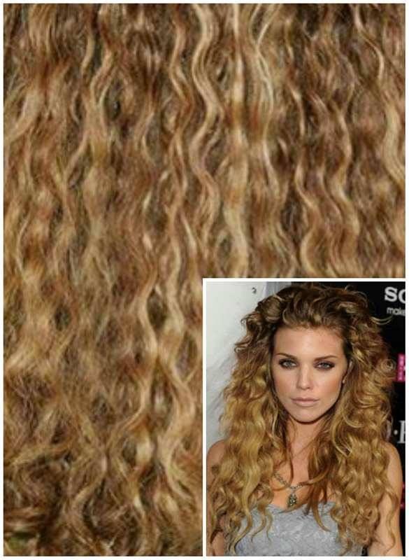 přírodní kudrnaté vlasy