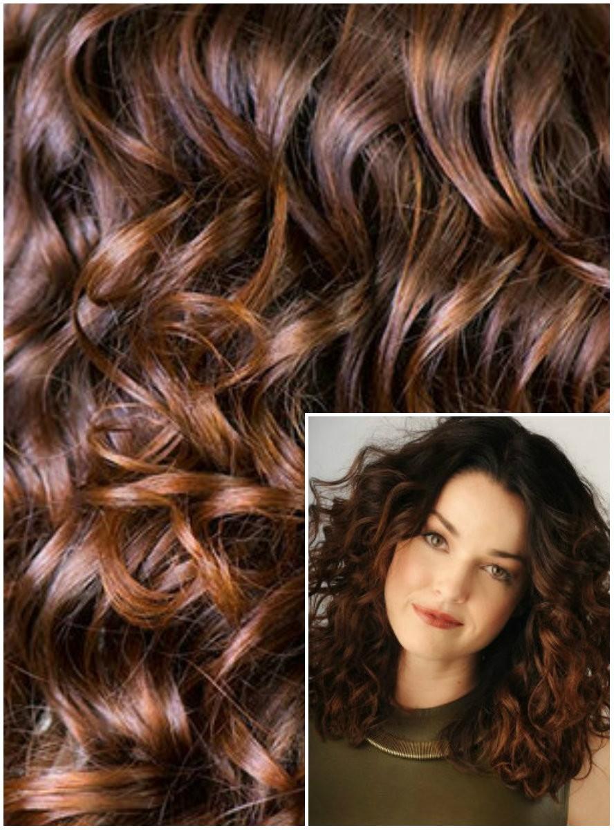 Clip in KUDRNATÉ 50cm 100g REMY lidské vlasy - STŘEDNĚ HNĚDÉ