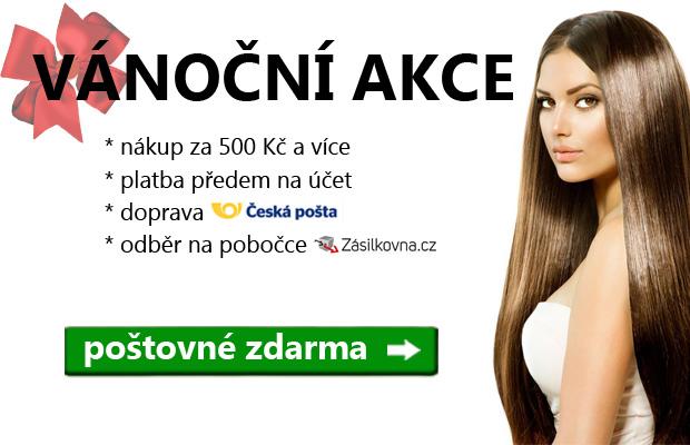 c37bfbf89c0 Vánoční akce - při nákupu nad 500 Kč doprava zdarma - ÚžasnéVlasy.cz
