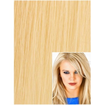 Clip in 50cm 100g  REMY lidské vlasy - SVĚTLEJŠÍ BLOND